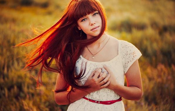Picture hair, portrait, bokeh