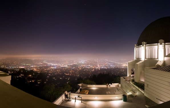 Picture night, the city, panorama