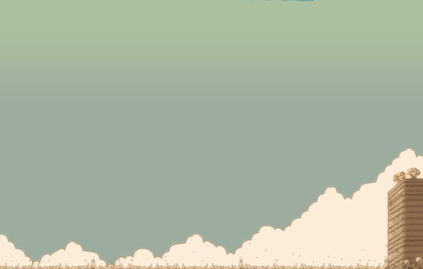 Picture clouds, pixels, 8bit, pixels, zelda