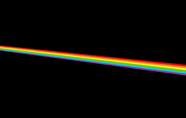 Picture Color Music The Moon Rainbow Pink Dark