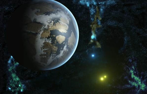 Picture earth, cosmos, planets