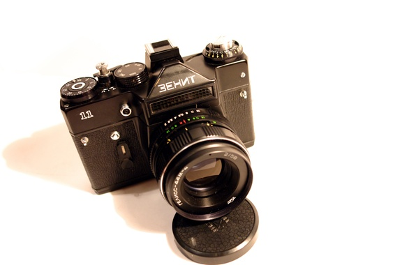 Picture USSR, Zenit, the camera, film, Helios, ojective