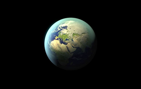 Picture space, landscapes, planet, earth