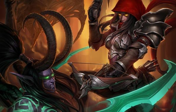 Wallpaper Heroes Of The Storm Valla Demon Hunter