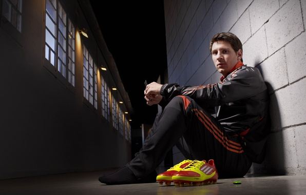 Picture football, celebrity, player, adidas, lionel messi, messi, Messi, cleats, adidas F50 adizero, Lionel Messi, Adidas …