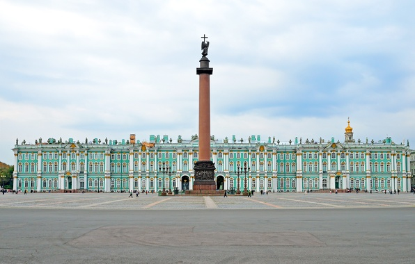 Picture area, Saint Petersburg, monument, Russia, The Winter Palace