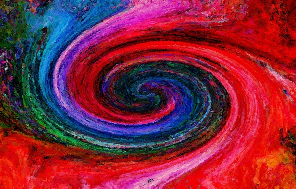 Picture pattern, color, spiral