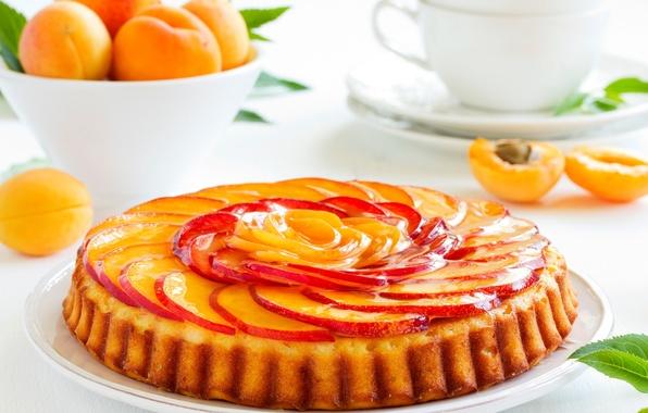 Picture apples, food, pie, fruit, dessert, cakes, apricots