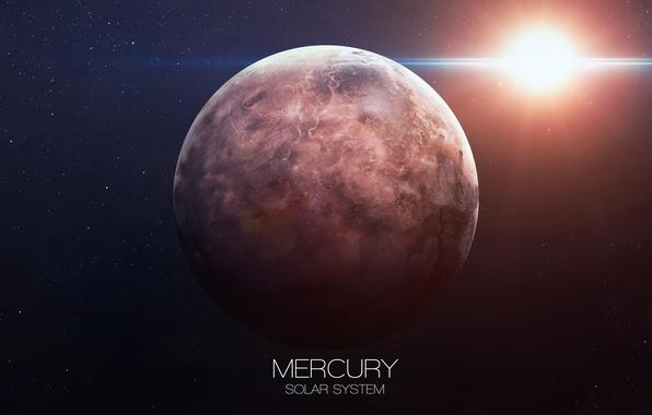 Picture planet, Mercury, solar system