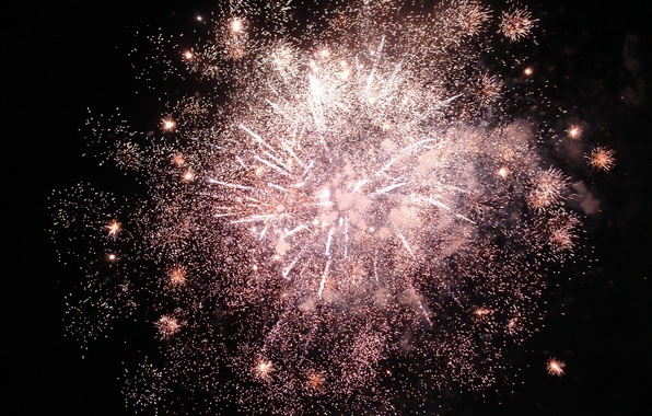 Picture the sky, night, lights, holiday, salute, fireworks