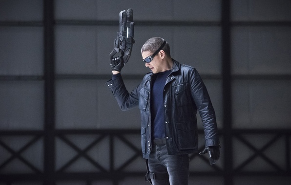 Picture weapons, fiction, glasses, jacket, gloves, the series, action, Wentworth Miller, Wentworth Miller, TV Series, Captain …