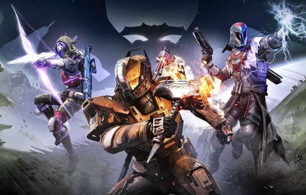 Picture Magic, Weapons, Cloak, Bungie, Activision, Destiny, Equipment, Destiny, Destiny, Bungie Software, Destiny: The Taken King