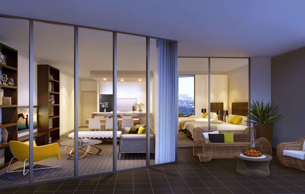 Picture design, the city, house, style, interior, Australia, living space