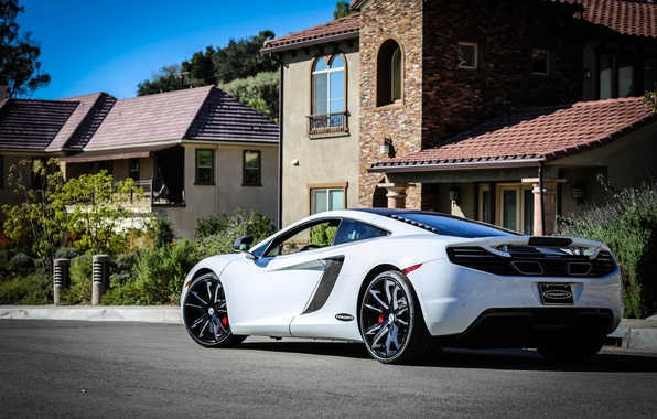 Picture supercar, tuning, mclaren, mp4-12c, forgiato