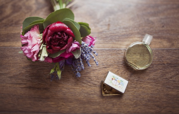 Picture table, tree, Flowers, structure, perfume