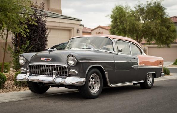 Picture retro, Chevrolet, classic, 1955