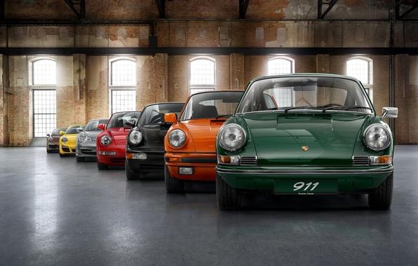 Picture Porsche, Machine, Porsche, Cars, Wallpaper, Mixed, Lineup