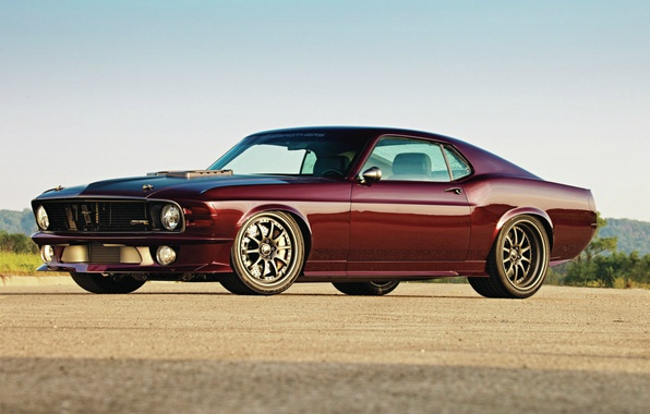 Picture Wallpaper, Mustang, Ford, Ford, legend, muscle car, 1970, wallpapers, SportsRoof