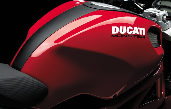 Picture red, ducati, monster 696