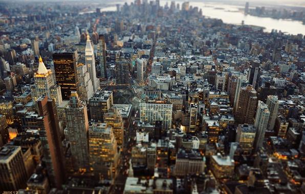 Picture the city, New York, USA, Manhattan, New York, New York City, Tilt Shift, JMK Photography