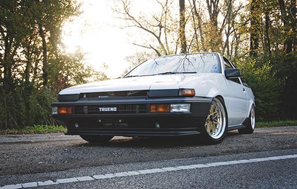 Picture toyota, corolla, ae86, Toyota, Corolla, trueno