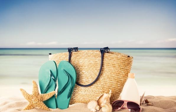 Picture sand, beach, summer