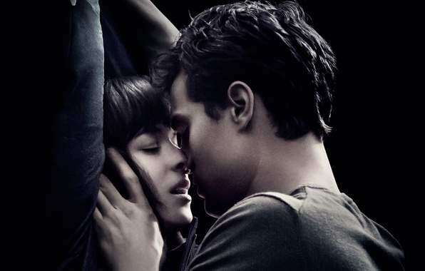 Picture Love, Girl, Anastasia, Grey, Wallpaper, Madness, Christian, Boy, Kiss, Romance, Passion, Drama, Universal Pictures, Lovers, …