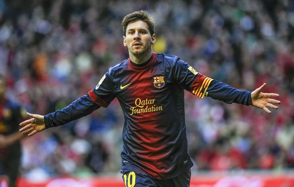 Picture football, club, form, player, football, Lionel Messi, Lionel Messi, player, Messi, FC Barcelona, FC Barcelona, …