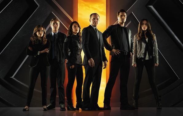 Photo wallpaper Agents of S.H.I.E.L.D., SHIELD, 2013, The series