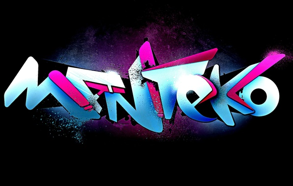 Picture design, style, rendering, graffiti, figure, paint, color, art, Abstraction, robot