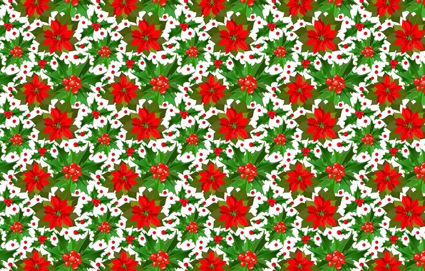 Picture background, holiday, Christmas, texture, New year, Christmas, poinsettia