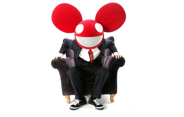 Picture Chair, Music, White, Smile, Costume, Background, Electro House, Deadmau5, Mouse, Progressive House, Deadmaus, Ears