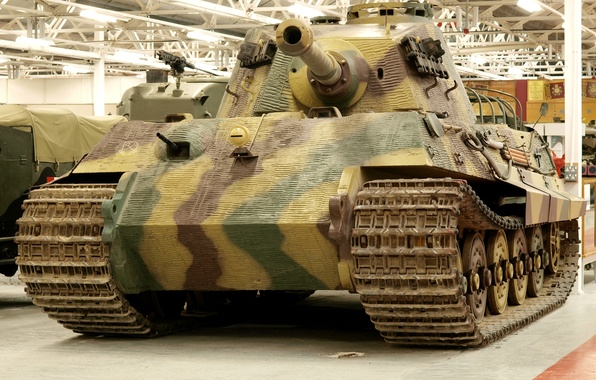 "Picture Museum, German, heavy, ""king tiger"", танк PzKpfw VI (Tiger II)"