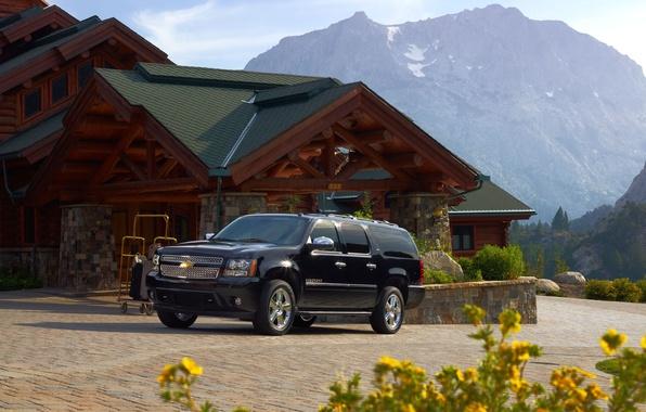 Picture mountains, Chevrolet, chevrolet, Chevy, suburban