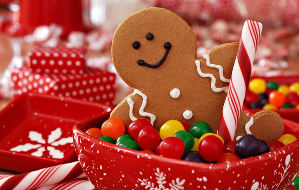 Picture holiday, cookies, Christmas, candy, sweets, New year, cookie, Christmas