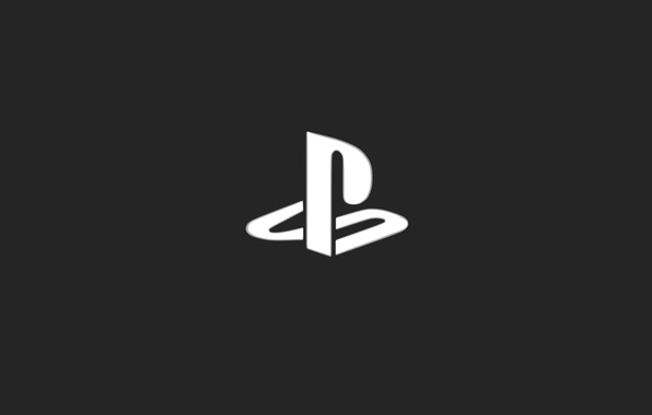 Picture Grey, Background, Logo, Playstation, Sony Playstation, Console