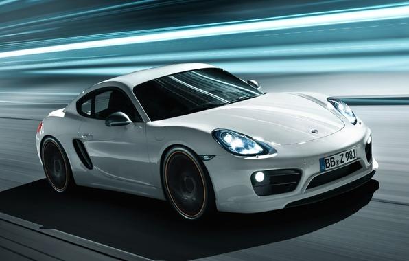 Picture background, tuning, Porsche, Cayman, Porsche, tuning, the front, TechArt, Caiman