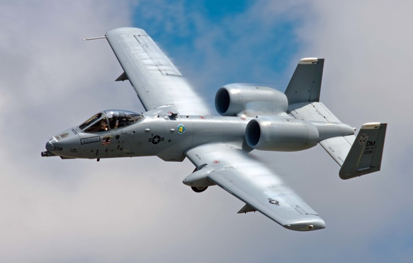 Picture the sky, flight, cloud, pilot, attack, A-10, Thunderbolt II, The thunderbolt II