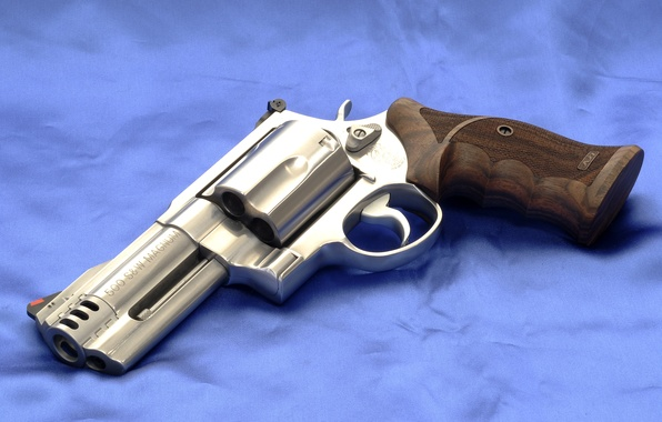 Picture Background, Gun, Canvas, Revolver, Model 500, Smith & Wesson, Smith Wesson, Model 500, Chrome, The …