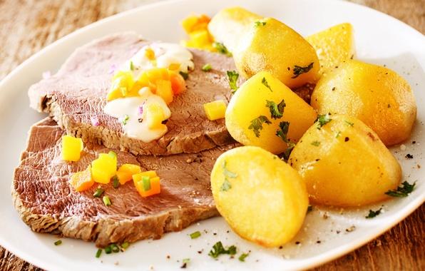 Picture greens, oil, food, blur, carrots, sauce, background, dumb-dumb, bokeh, dish, spices, potatoes, hot, seasoning, potatoes, …