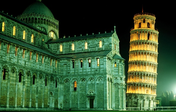Picture tower, Italy, Pisa