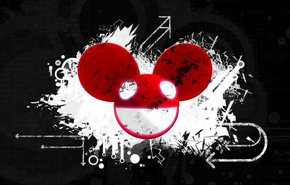 Picture music, creative, background, minimalism, club, beautiful, dark, deadmau5