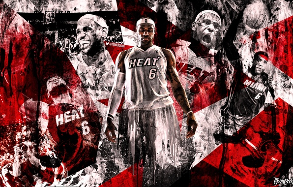 Picture Basketball, Background, Miami, NBA, LeBron James, Heat, LeBron James