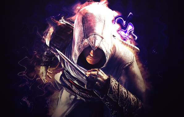 Picture clothing, the game, armor, knife, hood, dagger, Assassins Creed, game, spy, Ubisoft, assassin's creed, assasin, ...