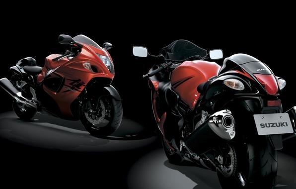 Picture sport, bike, Suzuki