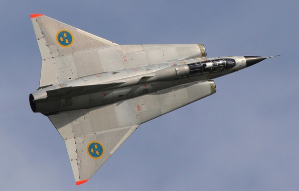 Picture fighter, Draken, supersonic, Swedish, Can be 35
