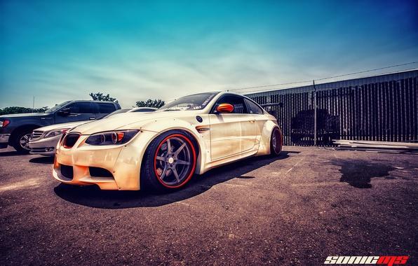 Picture HDR, BMW, BMW, E92, Liberty Walk, LB Performance, MFest