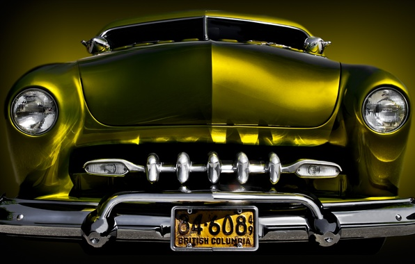 Picture retro, background, classic, the front, 1949, Mercury