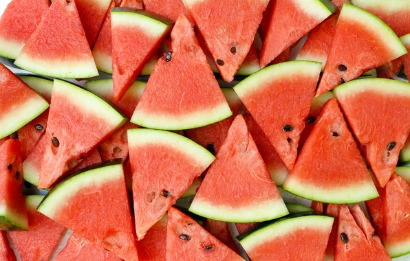 Picture watermelon, berry, slices, water melon