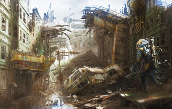 Picture Art, Bethesda Softworks, Bethesda, Bethesda Game Studios, Fallout 4, The Art of Fallout 4
